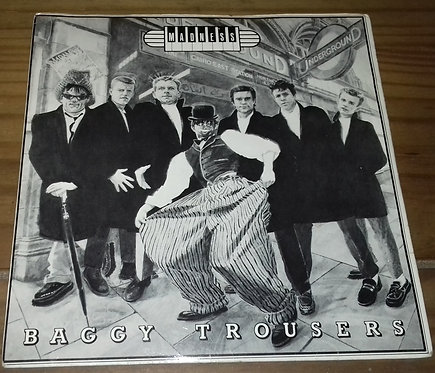 """Madness - Baggy Trousers (7"""", Single, Gre) (Stiff Records)"""