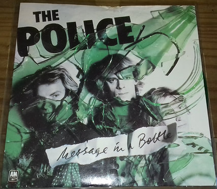 """The Police - Message In A Bottle (7"""", Single, Gre) (A&M Records)"""