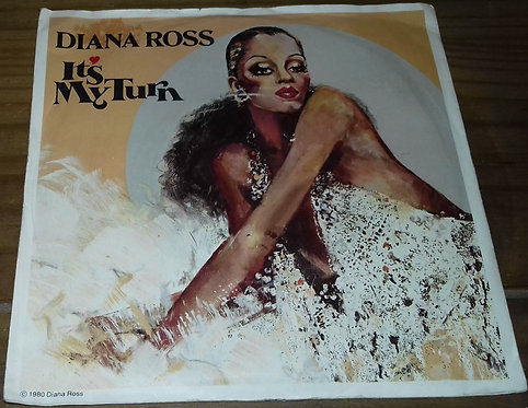 "Diana Ross - It's My Turn (7"", Single) (Motown)"