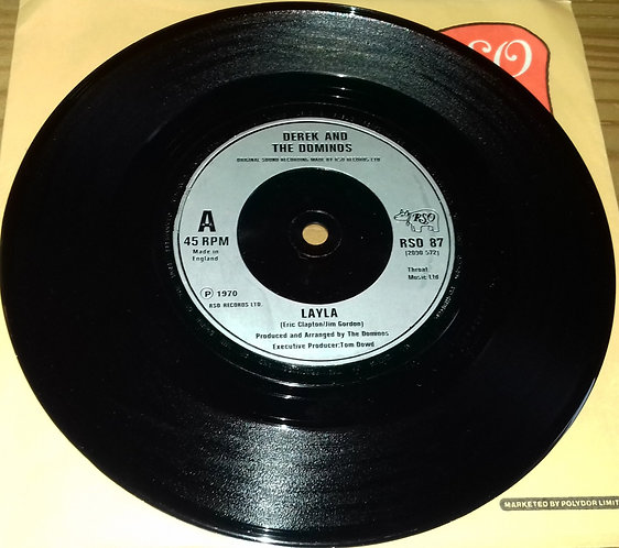 """Derek And The Dominos* / Eric Clapton - Layla / Wonderful Tonight (Live) (7"""", S"""