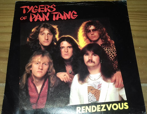 """Tygers Of Pan Tang - Rendezvous (7"""", Whi) (MCA Records)"""
