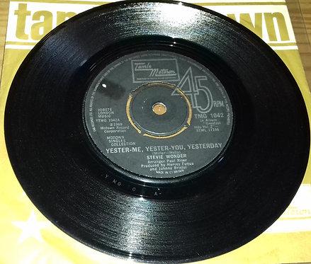 Stevie Wonder - Yester-Me, Yester-You, Yesterday / Uptight (Everything's Alright