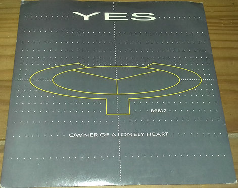 "Yes - Owner Of A Lonely Heart (7"", Single, Sol) (ATCO Records, ATCO Records)"