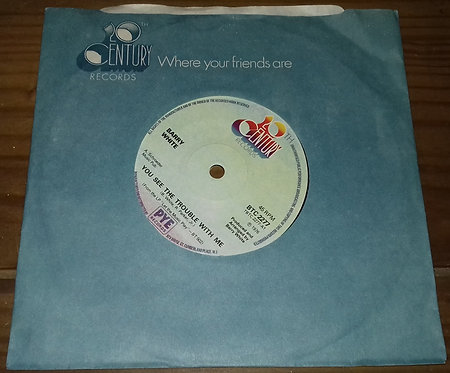 """Barry White - You See The Trouble With Me (7"""", Single, Sol) (20th Century Record"""