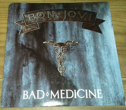 "Bon Jovi - Bad Medicine (7"", Single, Pap) (Vertigo, Vertigo, Vertigo)"