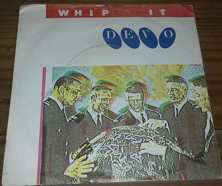 """Devo - Whip It (7"""", Single) (Virgin)"""