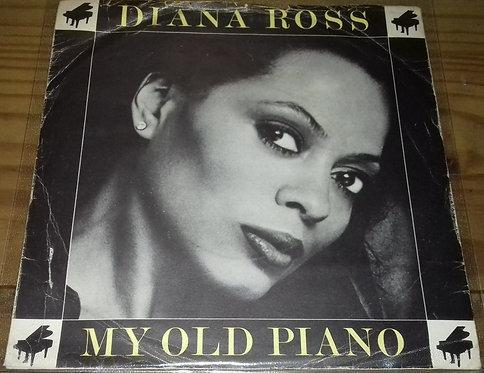 "Diana Ross - My Old Piano (7"", Single, Kno) (Motown)"