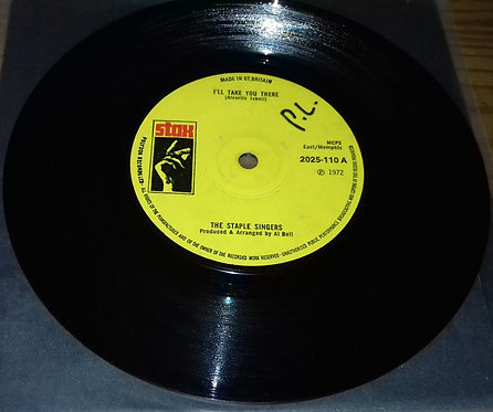 """The Staple Singers - I'll Take You There (7"""", Single) (Stax)"""