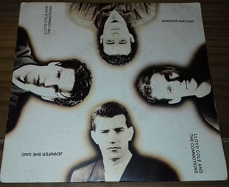 """Lloyd Cole And The Commotions* - Jennifer She Said (7"""", Single) (Polydor, Polydo"""