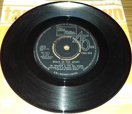 """Jr. Walker & The All Stars* - Walk In The Night (7"""", Single) (Tamla Motown)"""