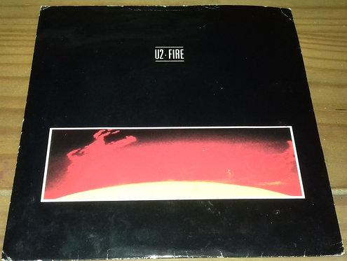"U2 - Fire (7"", Single) (Island Records)"