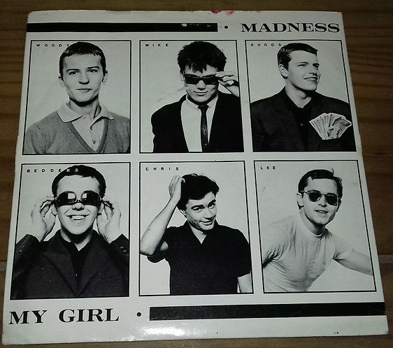 "Madness - My Girl (7"", Single) (Stiff Records)"