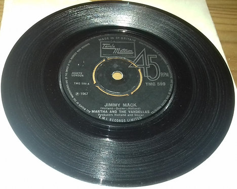 "Martha And The Vandellas* - Jimmy Mack (7"", RE, Pus) (Tamla Motown)"