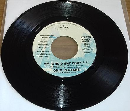 "Ohio Players - Who'd She Coo? (7"", Single, Promo) (Mercury, Mercury)"