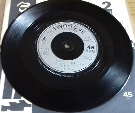 """The Beat  - Tears Of A Clown / Ranking Full Stop (7"""", Single, Inj) (Two-Tone"""