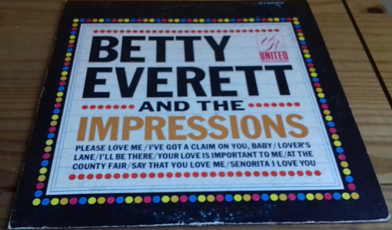 Betty Everett And The Impressions - Betty Everett And The Impressions (LP, Comp)