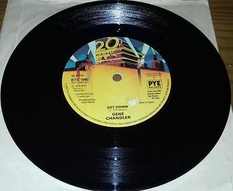 "Gene Chandler - Get Down (7"", Single, Sol) (20th Century Fox Records)"