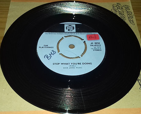 """The Playthings - Stop What You're Doing (7"""", Single) (Pye Records)"""