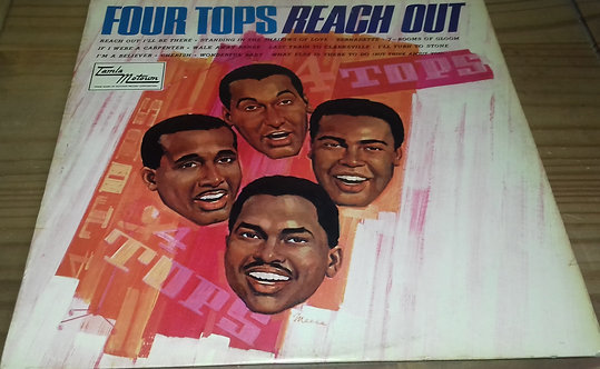 Four Tops - Reach Out (LP, Album) (Tamla Motown)