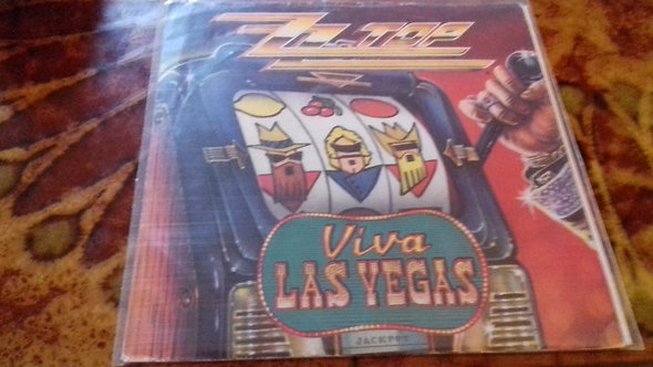 "ZZ Top - Viva Las Vegas (7"", Single) (Warner Bros. Records)"