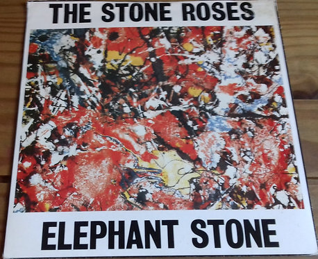 "The Stone Roses - Elephant Stone (7"", Single, RE, Red) (Silvertone Records)"