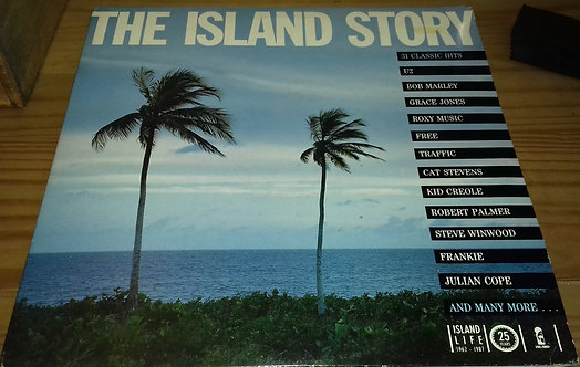 Various - The Island Story (2xLP, Comp, Gat) (Island Records)