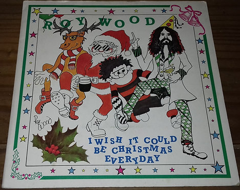 """Wizzard  - I Wish It Could Be Christmas Every Day (7"""", Single, RE, Bla) (Har"""