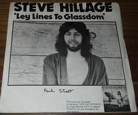 "Steve Hillage / Glenn Phillips - Leylines To Glassdom / Lies (7"", Single) (Virgi"