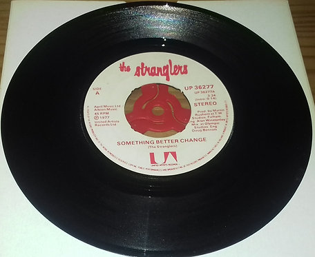 """The Stranglers - Something Better Change / Straighten Out (7"""", Single) (United A"""