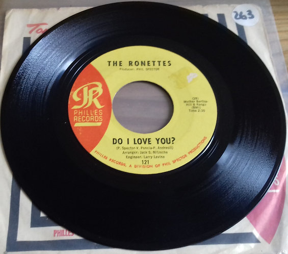 "The Ronettes - Do I Love You? (7"", Single) (Philles Records)"
