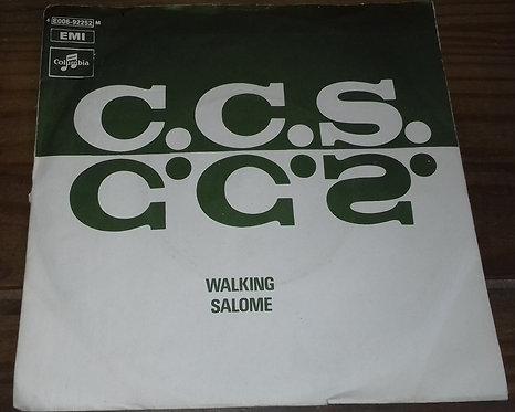 """C.C.S.* - Walking / Salome (7"""", Single) (Columbia, Columbia, Columbia)"""