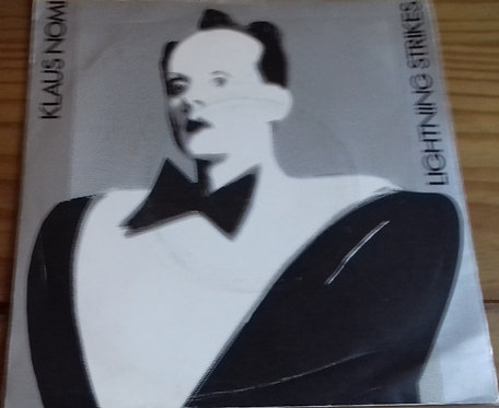 "Klaus Nomi - Lightning Strikes (7"", Single) (RCA)"