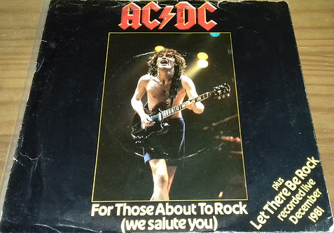 """AC/DC - For Those About To Rock (We Salute You) (7"""", Single) (Atlantic, Atlantic"""