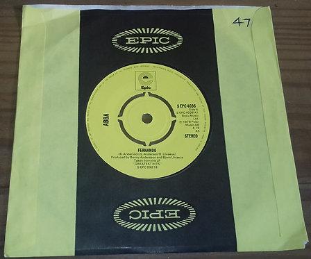 "ABBA - Fernando (7"", Single, Yel) (Epic)"