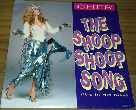 "Cher - The Shoop Shoop Song (It's In His Kiss) (7"", Single) (Epic)"