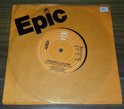 """ABBA - The Name Of The Game (7"""", Single) (Epic)"""