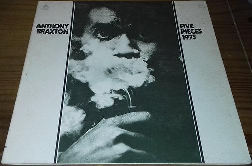 Anthony Braxton - Five Pieces 1975 (LP, Album, RE, Gat) (Arista)