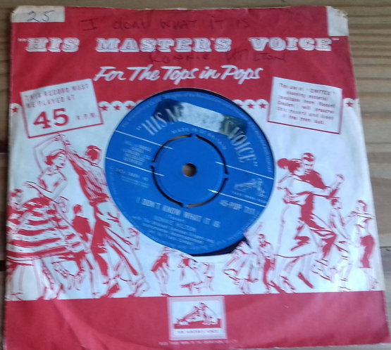 """Ronnie Hilton - I Don't Know What It Is (7"""") (His Master's Voice)"""