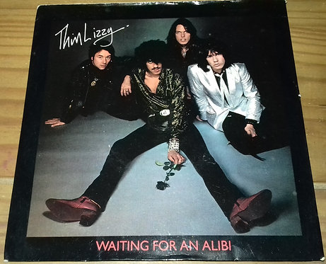 """Thin Lizzy - Waiting For An Alibi (7"""", Single) (Vertigo)"""