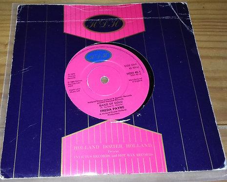 "Freda Payne - Band Of Gold (7"", Single) (HDH)"