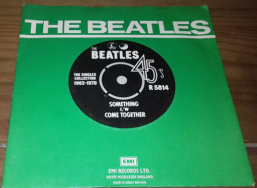 "The Beatles - Something / Come Together (7"", Single, RE) (Apple Records, Parloph"