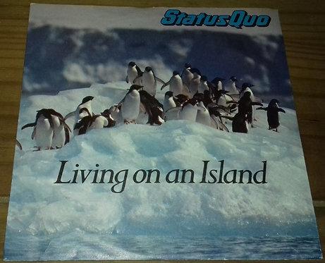 """Status Quo - Living On An Island (7"""", Single, Pic) (Vertigo)"""