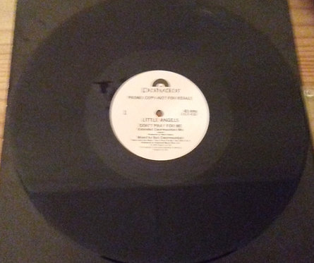 """Little Angels - Don't Pray For Me (12"""", Single, Promo) (Polydor)"""