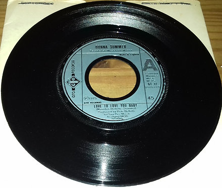 """Donna Summer - Love To Love You Baby (7"""", Single) (GTO)"""