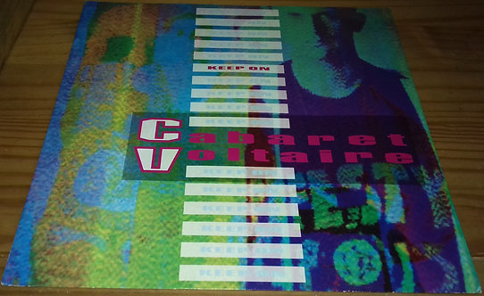 """Cabaret Voltaire - Keep On (12"""", Single) (Parlophone)"""