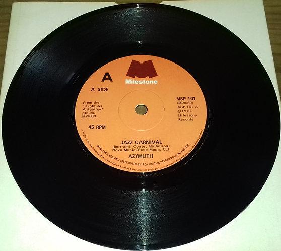 "Azymuth - Jazz Carnival (7"", Single, Sol) (Milestone (4), Milestone (4))"