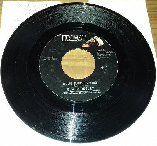 "Elvis Presley - Blue Suede Shoes / Tutti Frutti (7"", Single, RE, Ind) (RCA)"