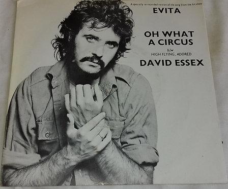 "David Essex - Oh What A Circus (7"", Single, Tan) (Mercury)"