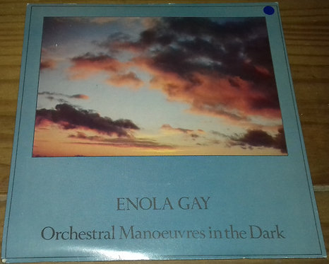 """Orchestral Manoeuvres In The Dark - Enola Gay (7"""", Single, Gre) (Dindisc)"""