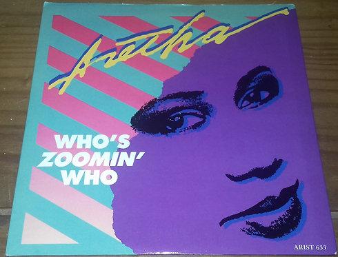 "Aretha Franklin - Who's Zoomin' Who (7"", Single, Glo) (Arista)"